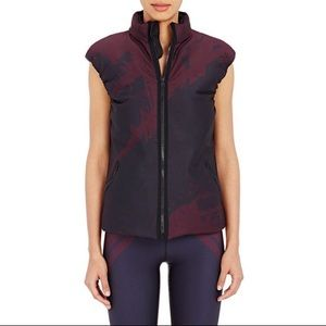 Ultracor Purple Abstraction-print Padded Vest